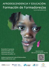 Convocatoria a pre-inscripciones al curso semipresencial Afrodescendencia y Educación: Formación de formadores/as
