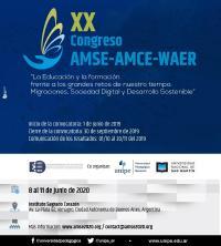 XX Congreso AMSE-AMCE-WAER